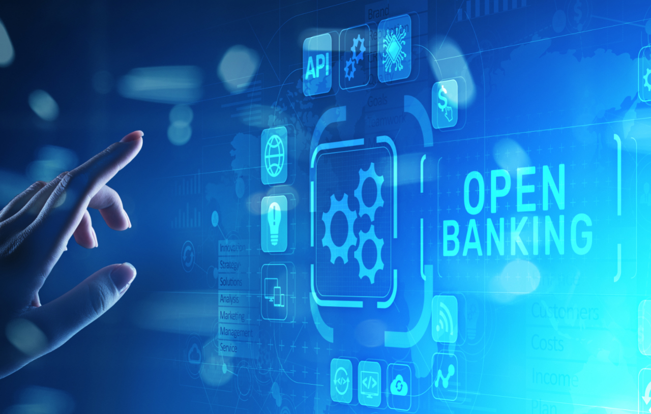 Open Banking Image Digital screen